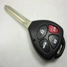 Toyota Transponder Car Key